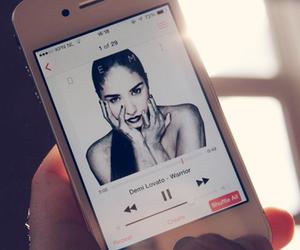 iphone, demi, and demi lovato image
