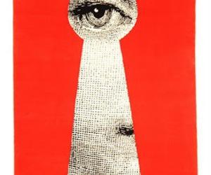 art, eye, and fornasetti image
