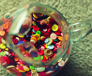 buttons, colorful, and colors image