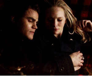 the vampire diaries, tvd, and steroline image