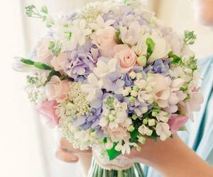 bouquet, flowers, and meu image