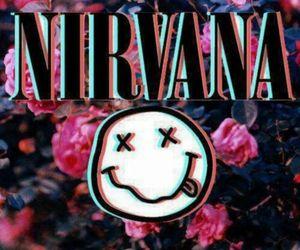 flower, forever, and kurt cobain image