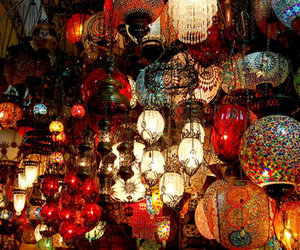 light, lamp, and istanbul image