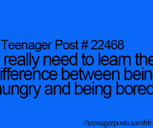 teenager post, teenager, and bored image