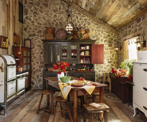 classic, kitchen, and old image
