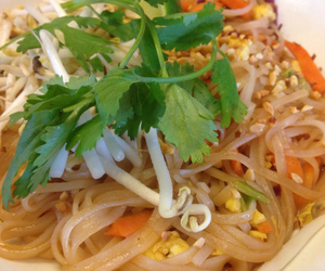 food, healthy, and noodle image