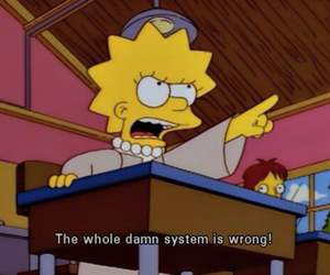 lisa, quotes, and the simpsons image