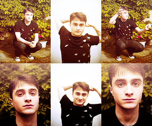 boy, harry potter, and daniel radcliffe image