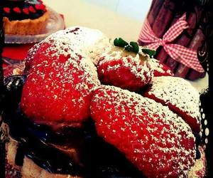 strawberry and sweet pie image