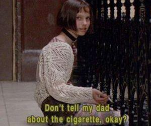 cigarette, grunge, and leon image