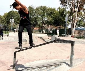 Hot, skate, and tricks image