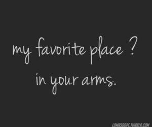 love, arms, and place image