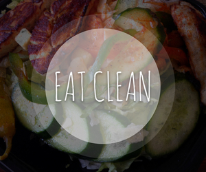 Chicken, clean, and eat image