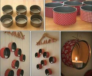 candle, diy, and decoration image