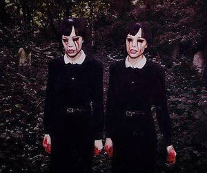 Alice Glass, Crystal Castles, and blood image