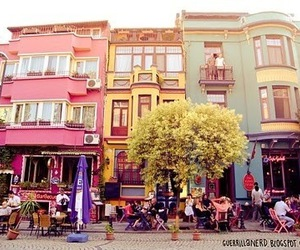 colors, colorful, and house image