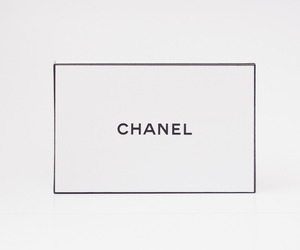 black and white, brand, and chanel image