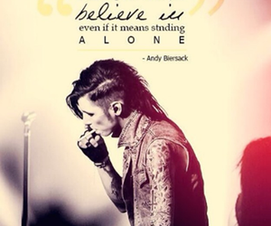 quote, black veil brides, and andy image