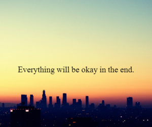 quote, life, and end image