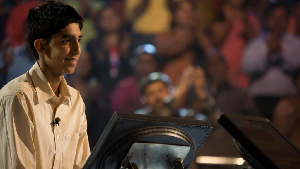 Dev Patel, movie, and slumdog millionaire image