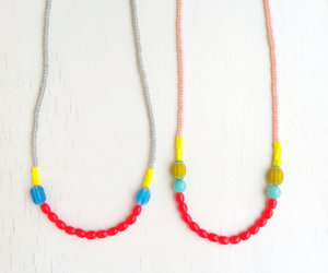bright colors, neon colors, and neon necklace image
