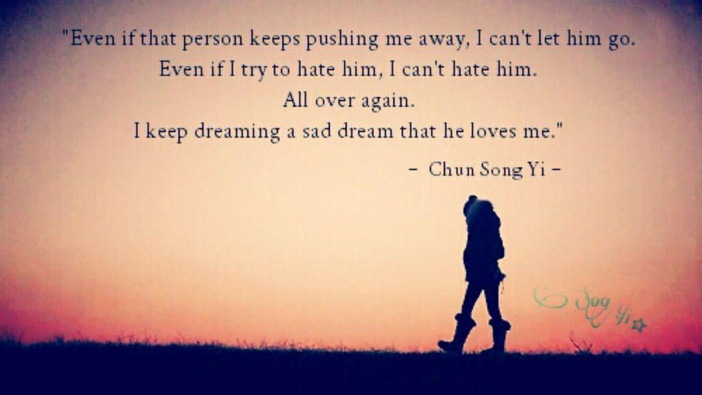 Sad Dream Chun Song Yi On We Heart It