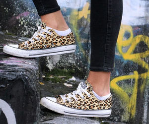 leopard, shoes, and style image