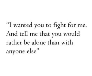quotes, love, and fight image