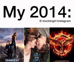 the fault in our stars, divergent, and 2014 image