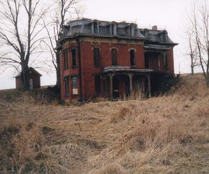 house, abandoned, and vintage image