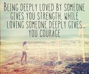 courage, quotes, and deep image