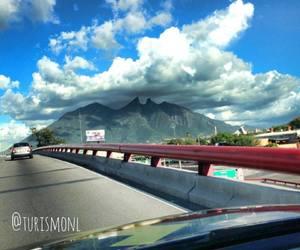 ciudad, monterrey, and cerro de la silla image