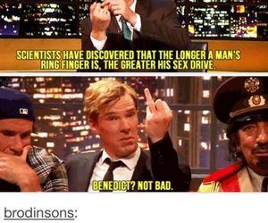 funny, post, and benedict cumberbatch image