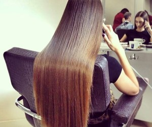 hair, long hair, and long image