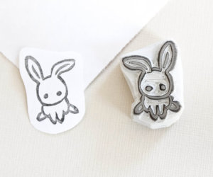 bunny, easter, and easter rabbit image