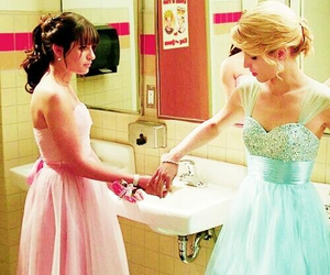 glee, Prom, and quinn fabray image