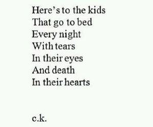sad, tears, and quote image