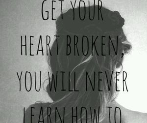 quote, girl, and broken image
