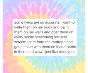 accurate and Lyrics image