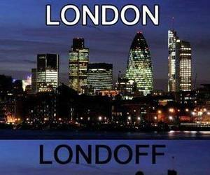 london, funny, and city image