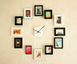 clock, picture, and timeless image