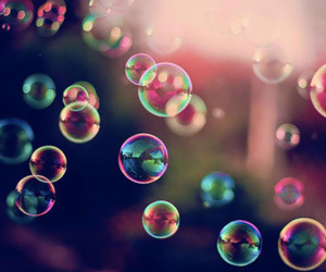 beautiful, charm, and bubbles image