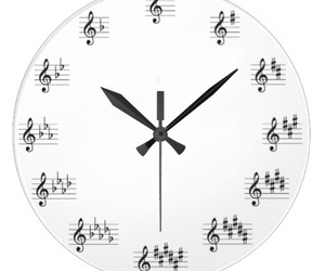 circle of fifths clock image