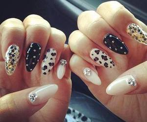 long, style, and nails image