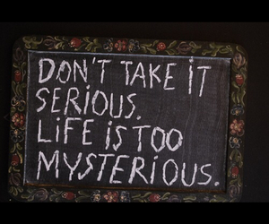 life and mysterious image