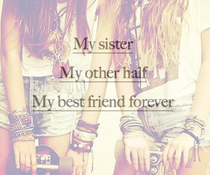 sisters, best friends, and friends image
