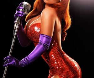 Jessica Rabbit, sexy, and disney image