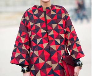 coat, fashion, and GIOVANNA BATTAGLIA image