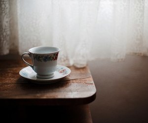 vintage, tea, and coffee image
