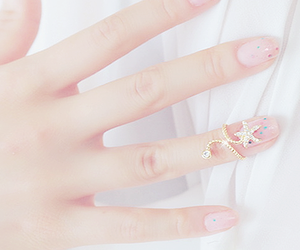 cute, nails, and pastel image